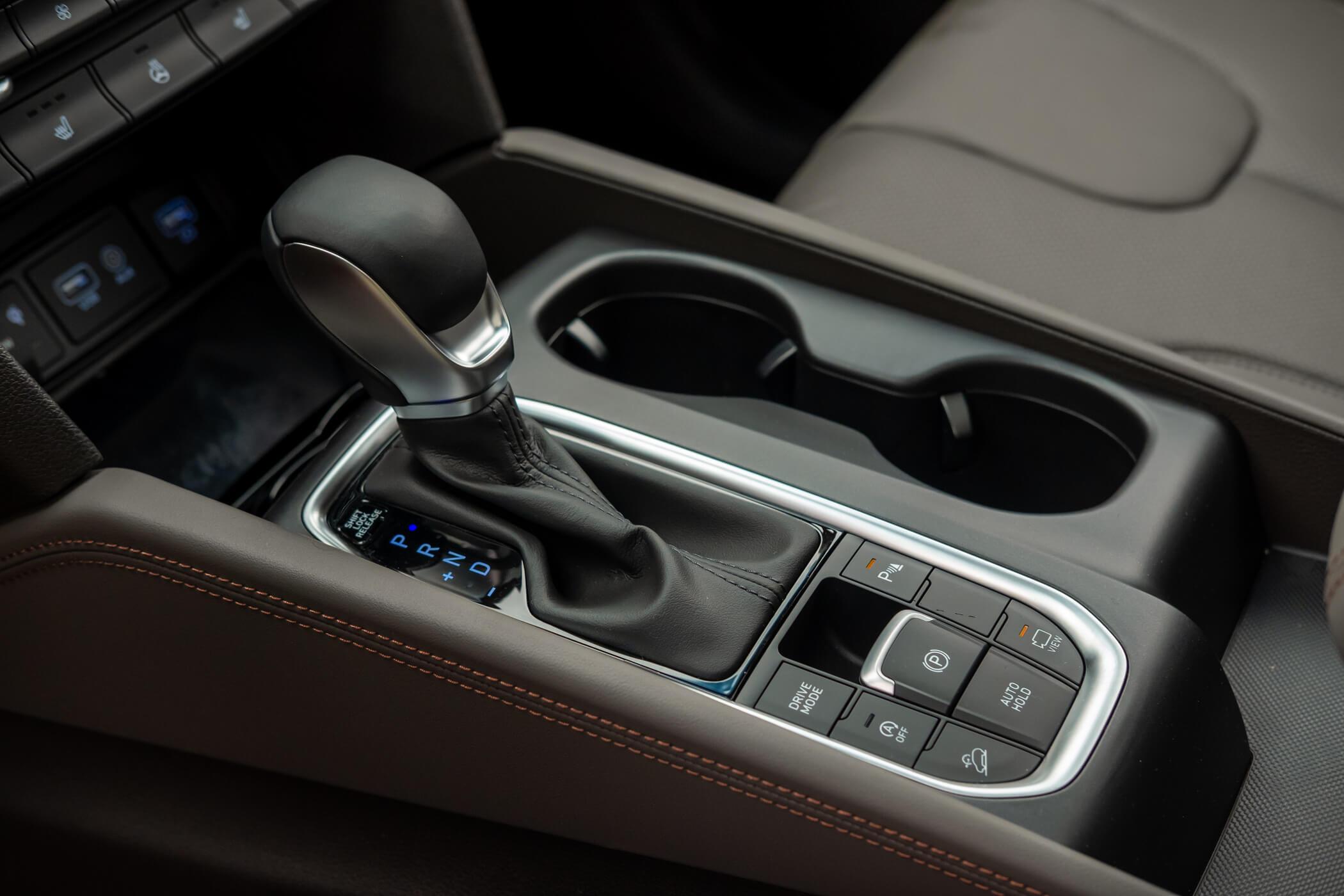 Consola central do Hyundai Santa Fé