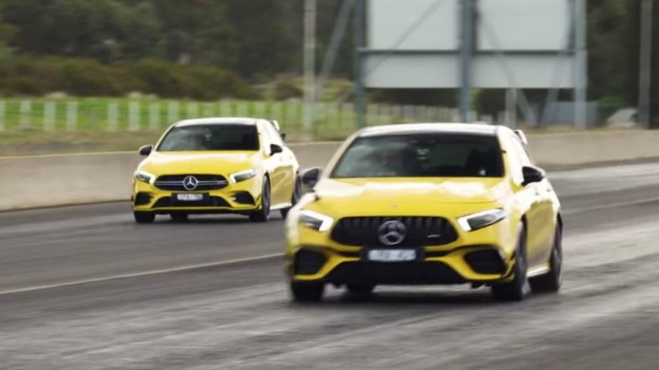 Mercedes-AMG A 45 S contra Mercedes-AMG A 35