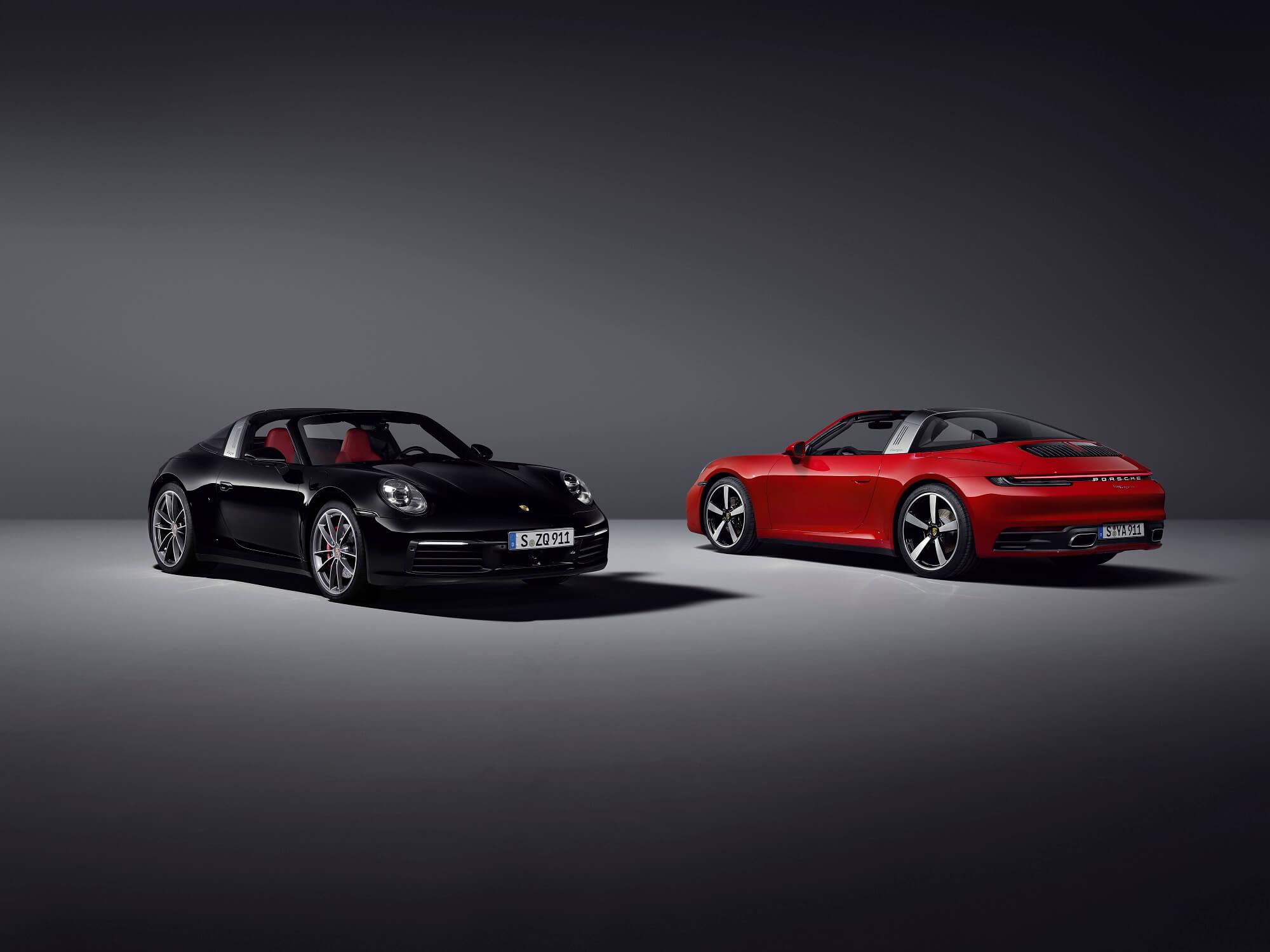 Porsche 911 Targa S e Targa 4S