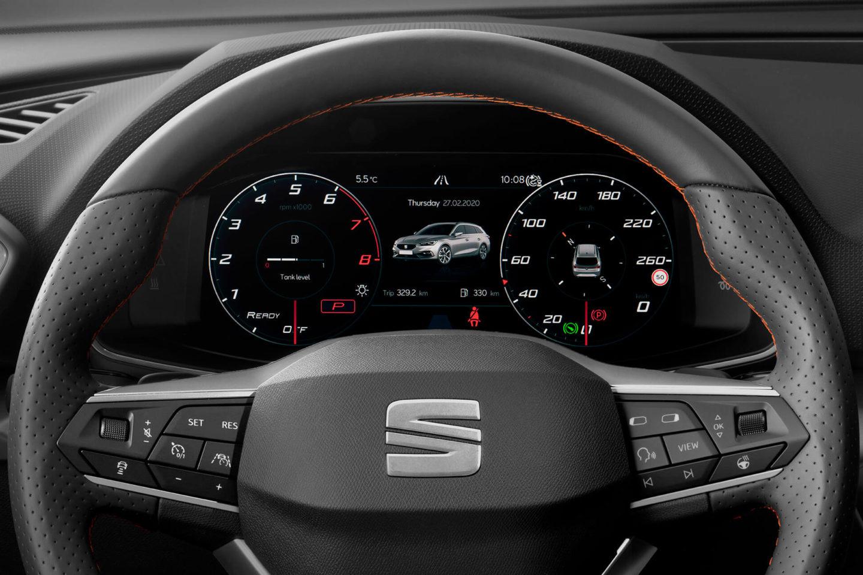 Painel de instrumentos do SEAT Leon 2020