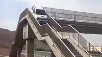 Suzuki Jimny passagem aérea para peões