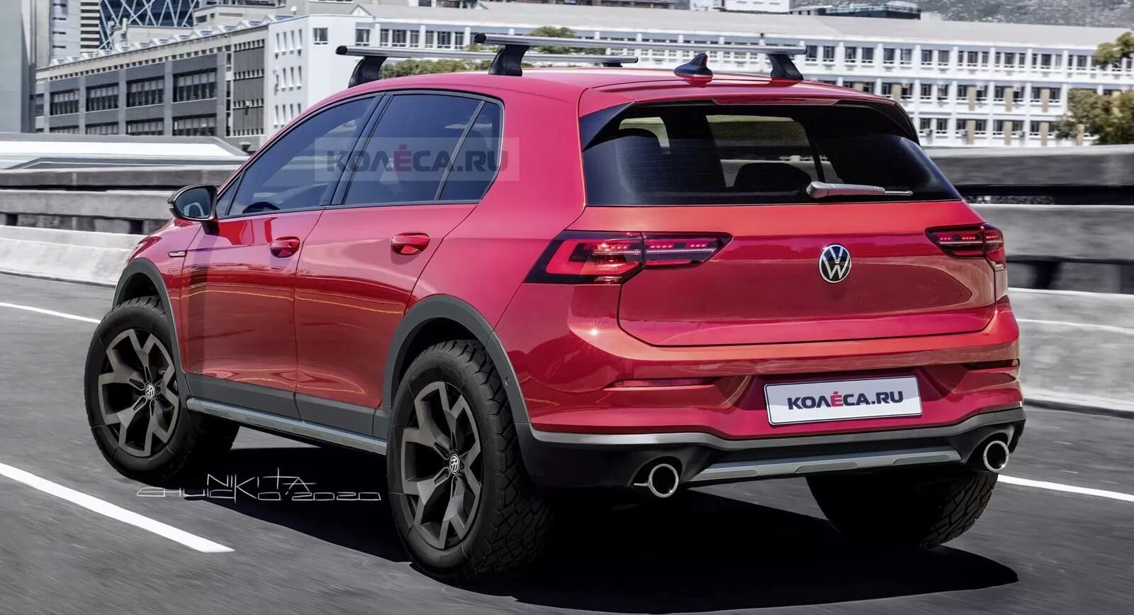 Volkswagen Golf Country Render