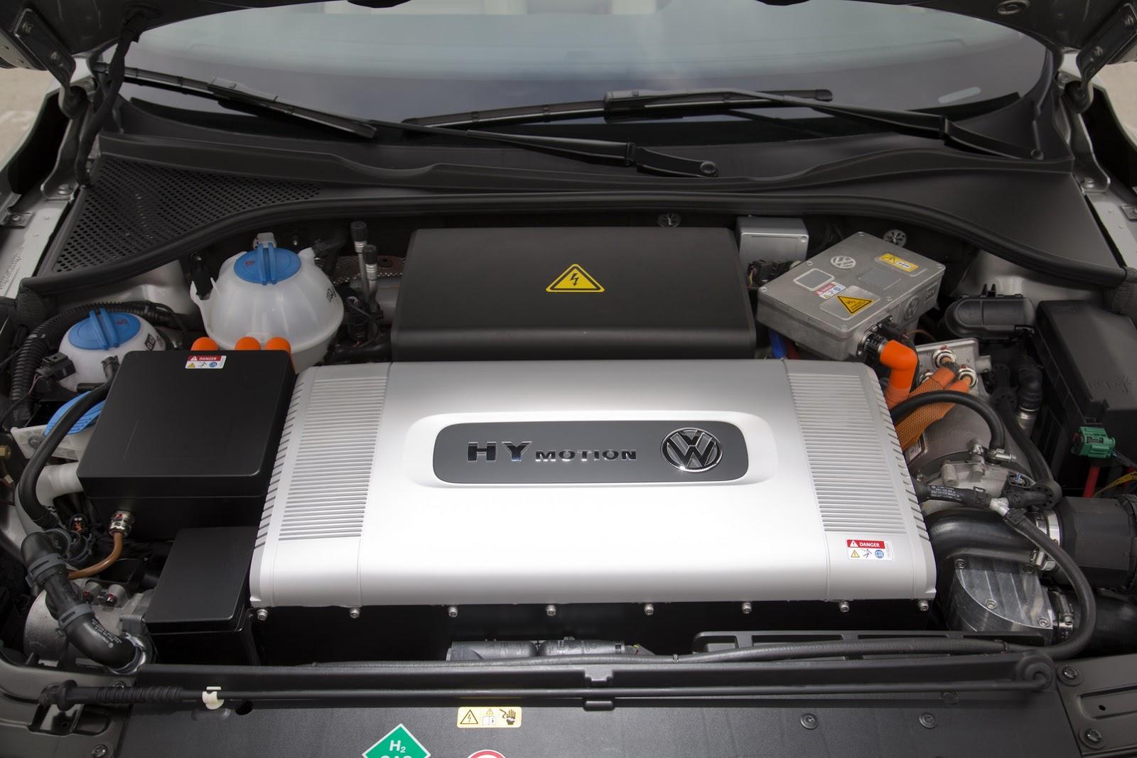 Volkswagen motor a hidrogénio