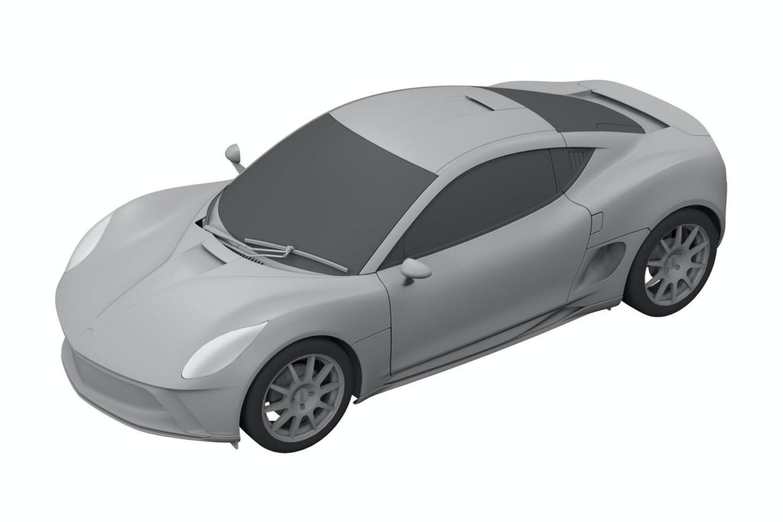 Patente do modelo de produção do Yamaha Sports Ride Concept