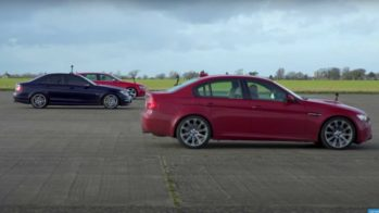 audi rs 4 avant b8 vs mercedes-benz c63 AMG W204 vs BMW M3 E90
