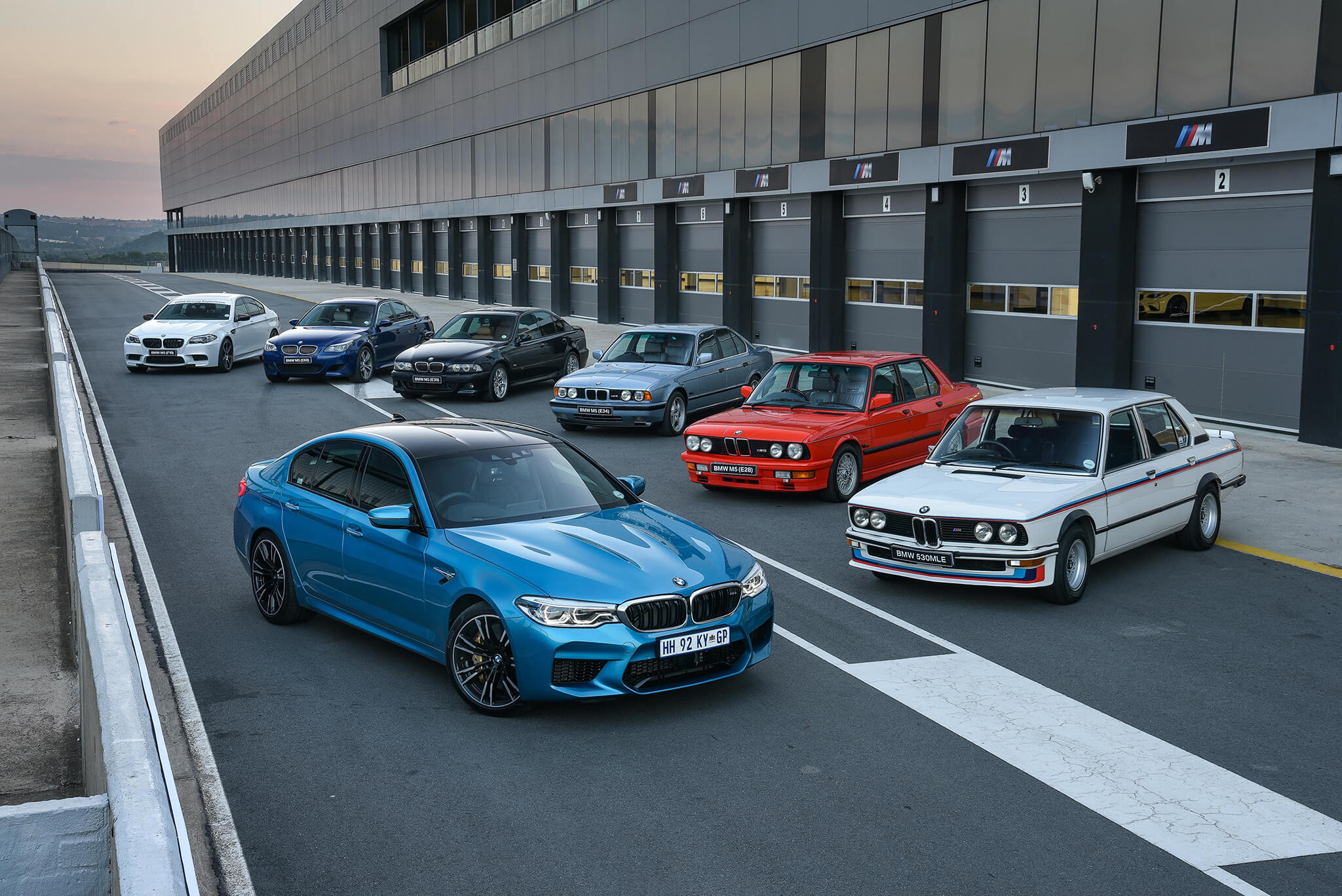 BMW M5 gerações