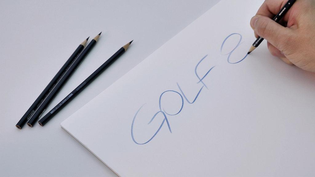 Lápis e folha de papel, Golf 8