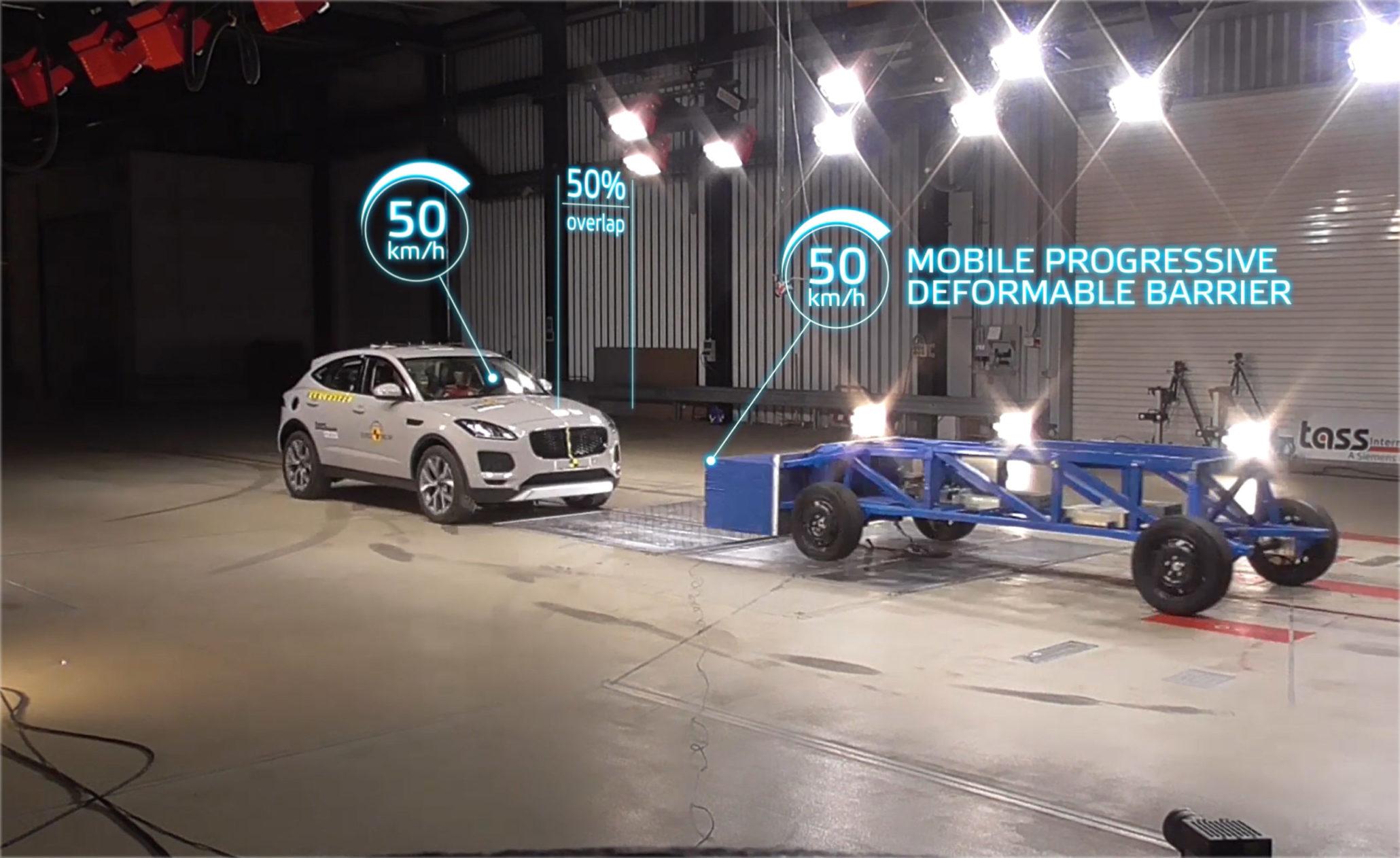 Euro NCAP nova barreira deformável