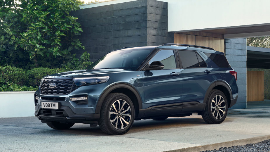 Ford Explorer Plug-in Hybrid2020