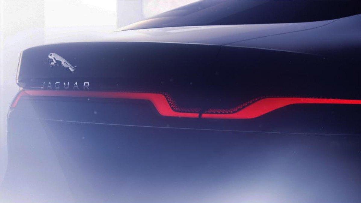 Jaguar XJ teaser