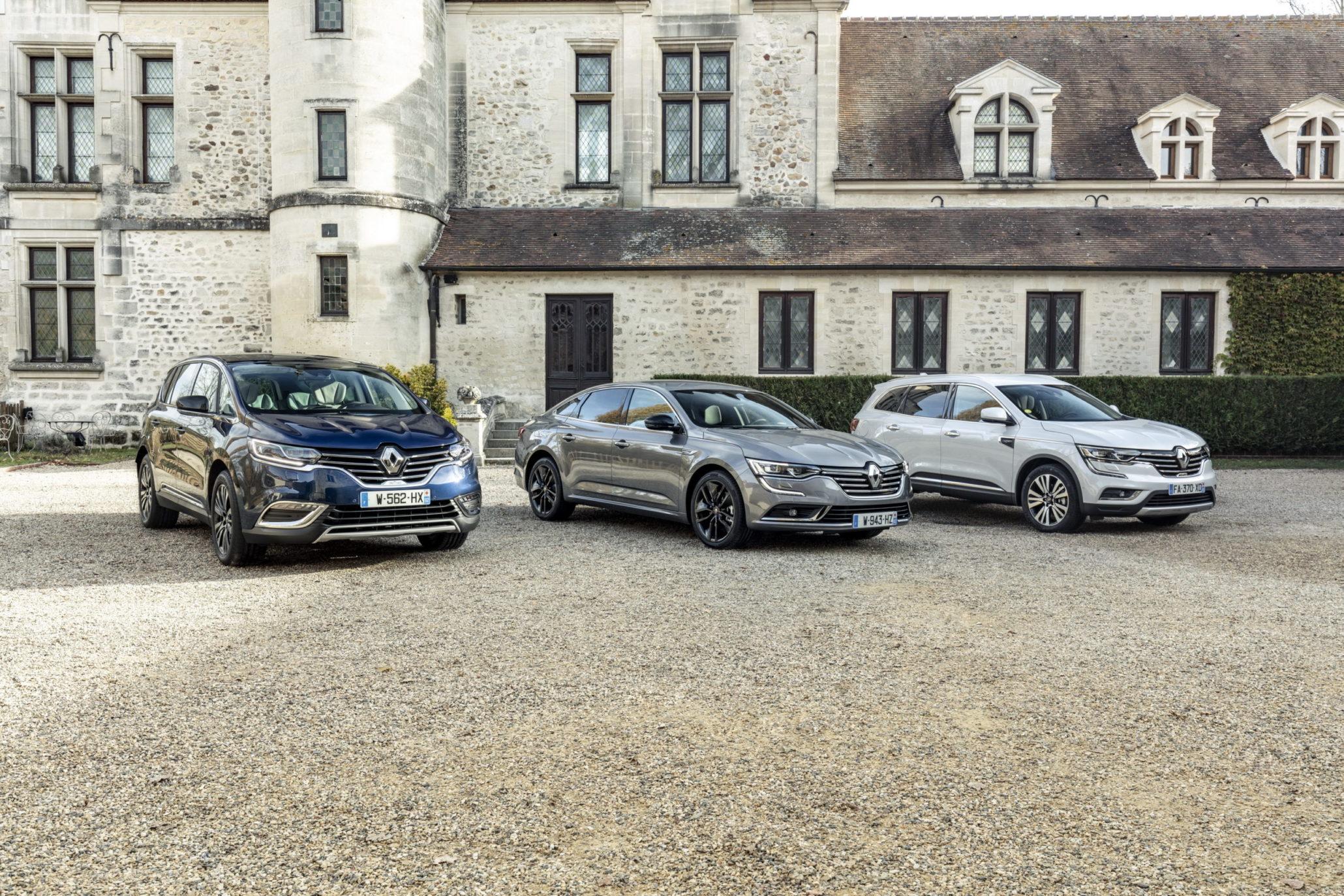 Renault Espace, Talisman, Koleos