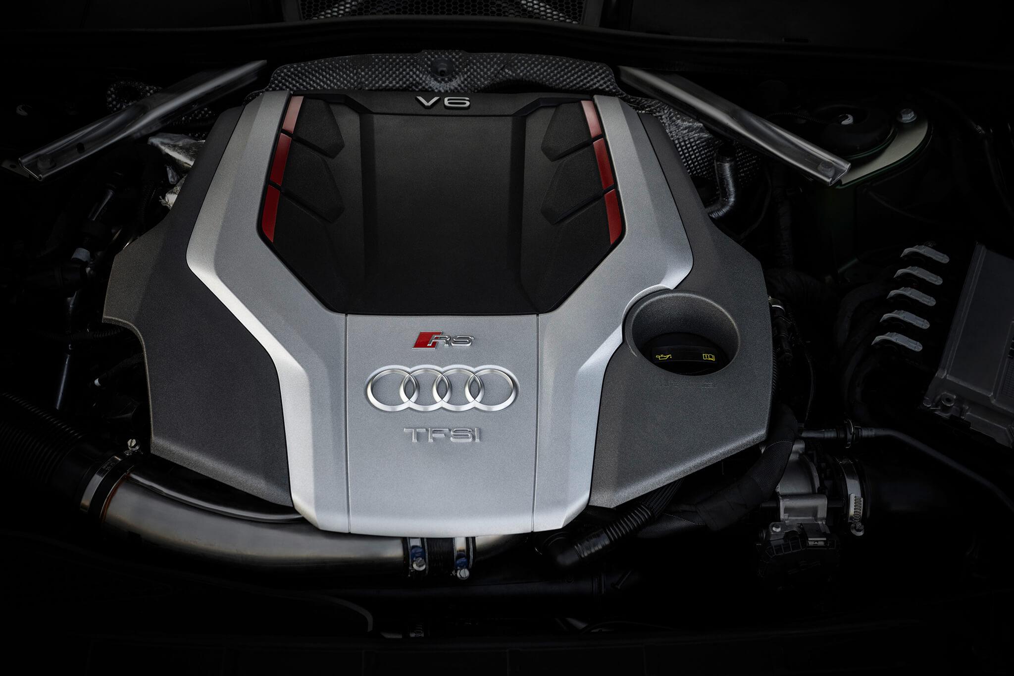 Motor 2.9 V6 biturbo