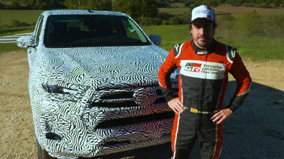 Toyota Hilux com Fernando Alonso