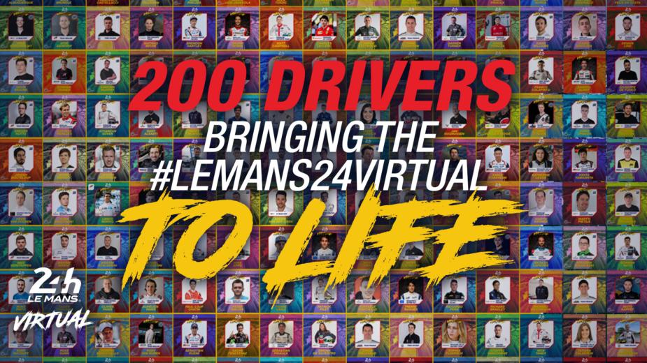 24 Horas de Le Mans virtuais