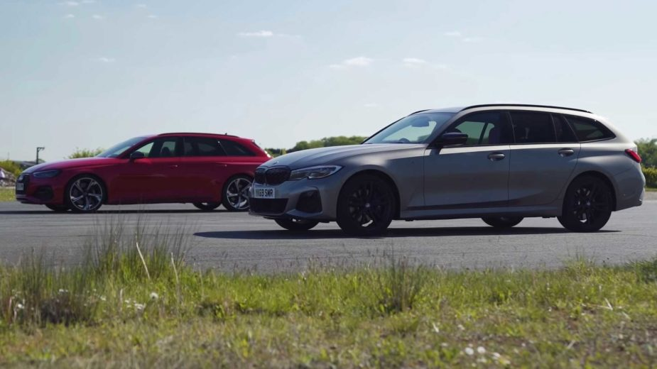 BMW M340i Touring vs Audi RS4 Avant