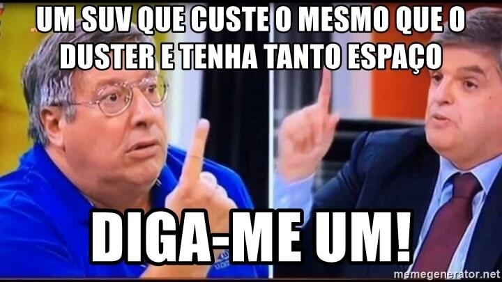Dacia Duster meme