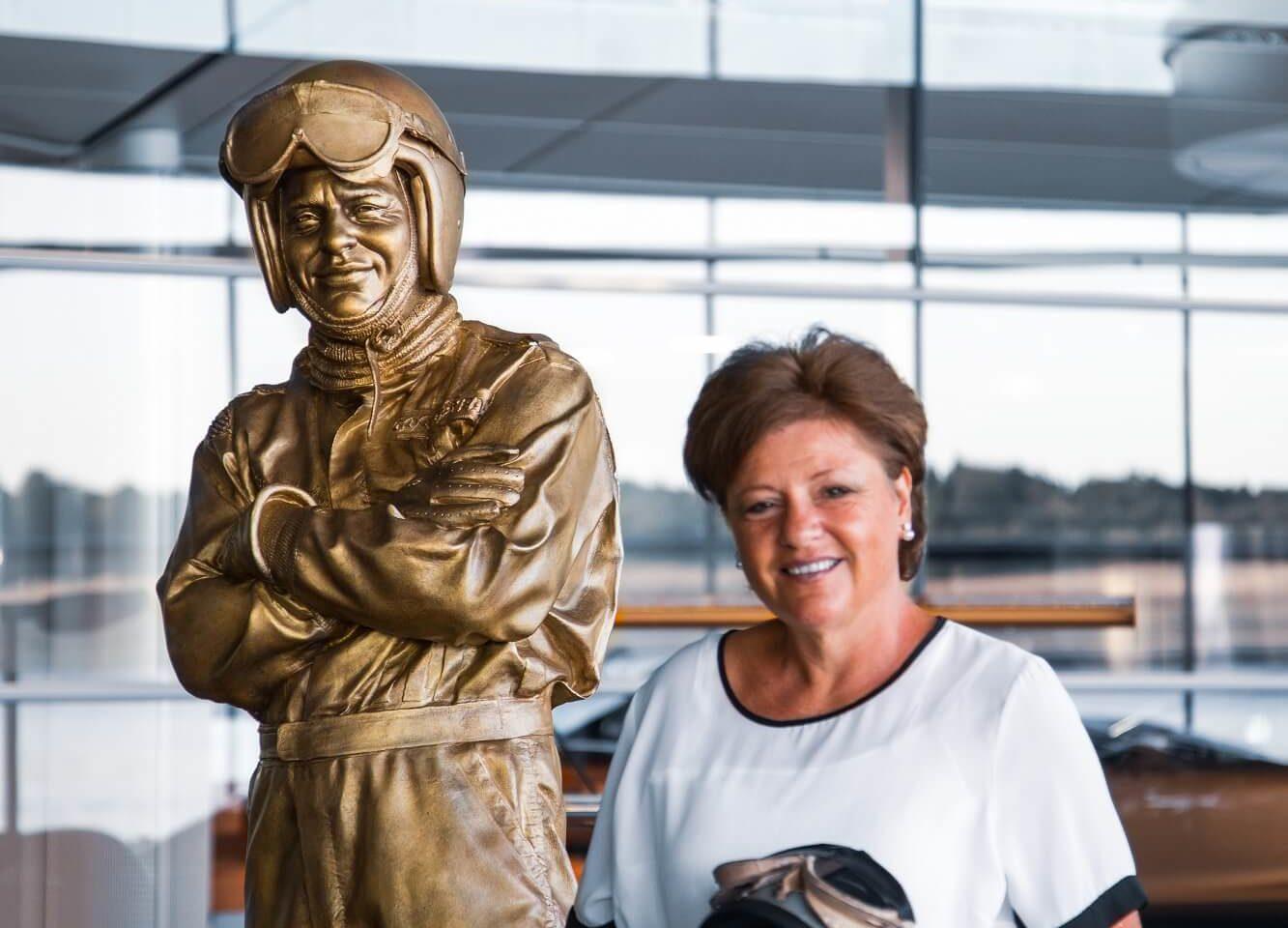 Estátua Bruce McLaren