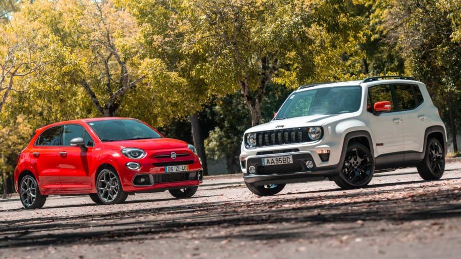 Fiat 500X Sport vs Jeep Renegade Orange Edition