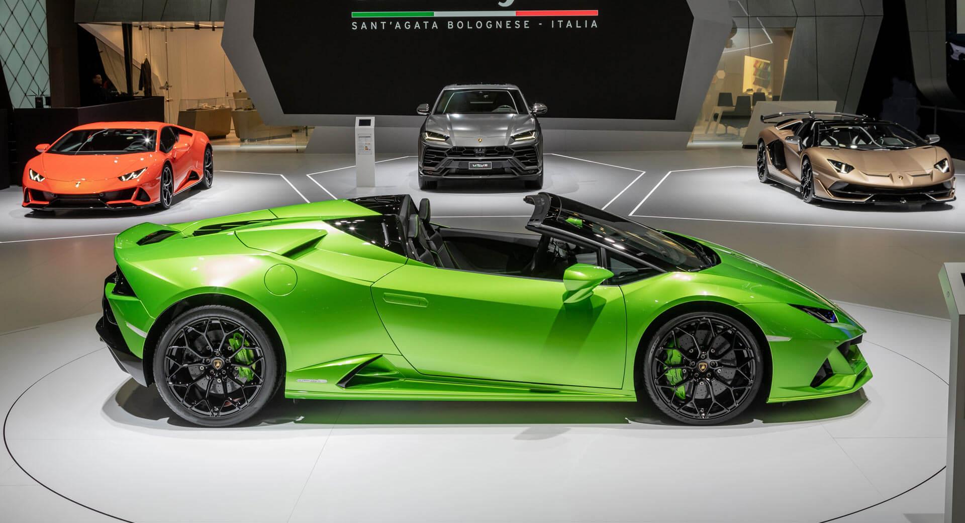 Lamborghini salão automóvel