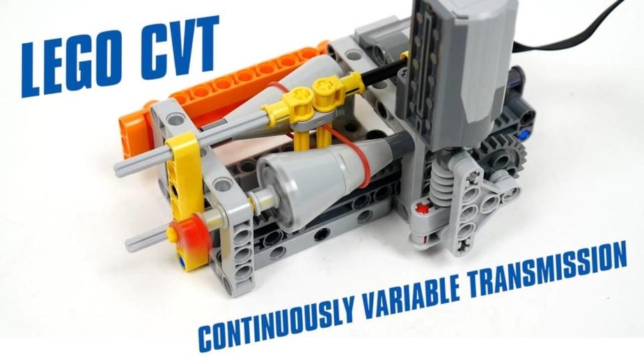 Lego caixa CVT
