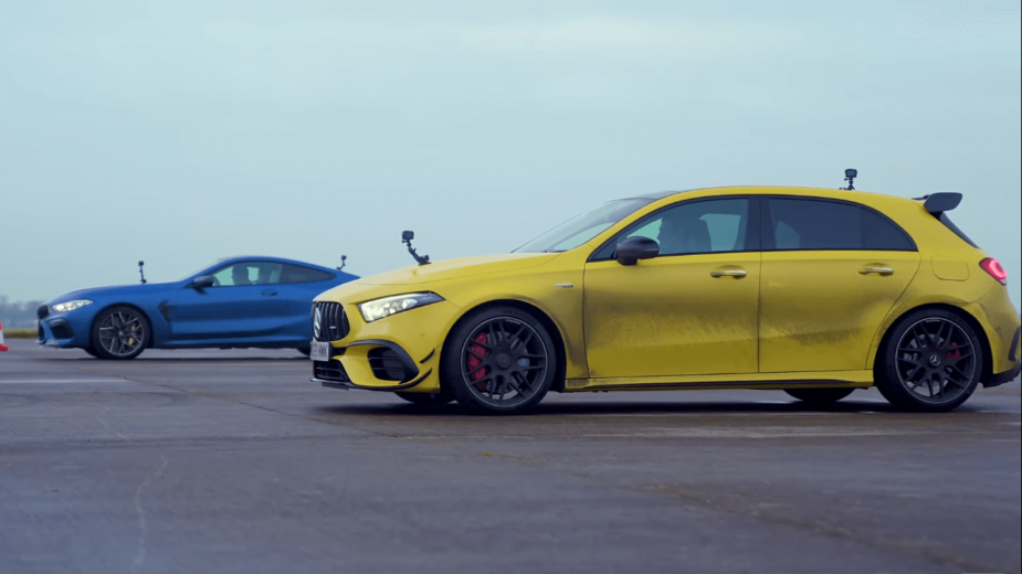Mercedes-AMG A 45 S vs BMW M8 Competition
