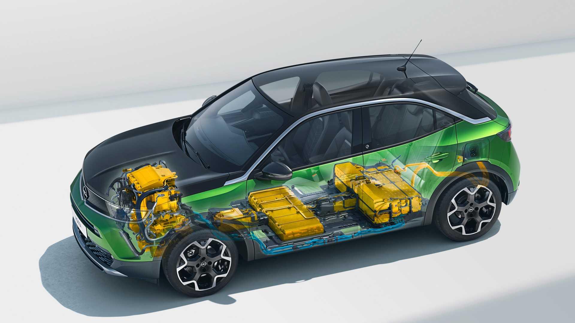 Opel Mokka 2020 baterias