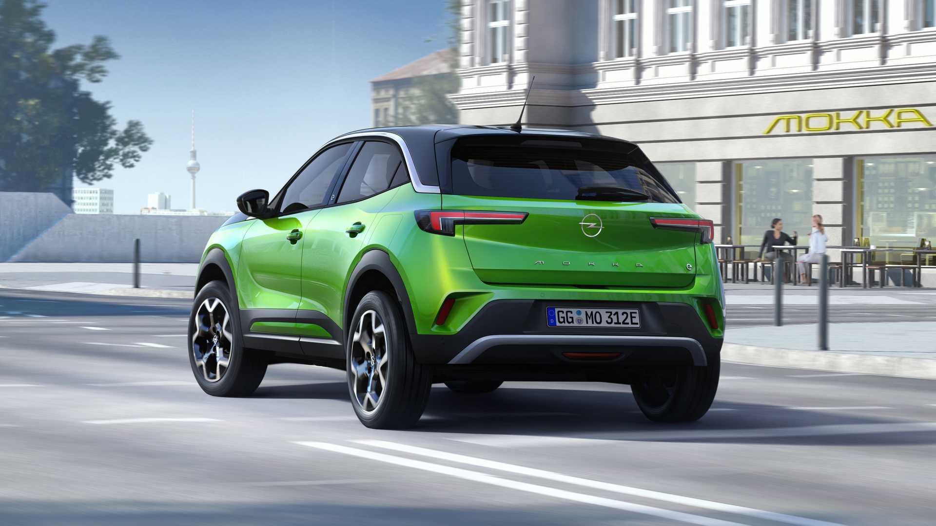 Opel Mokka 2020 traseira