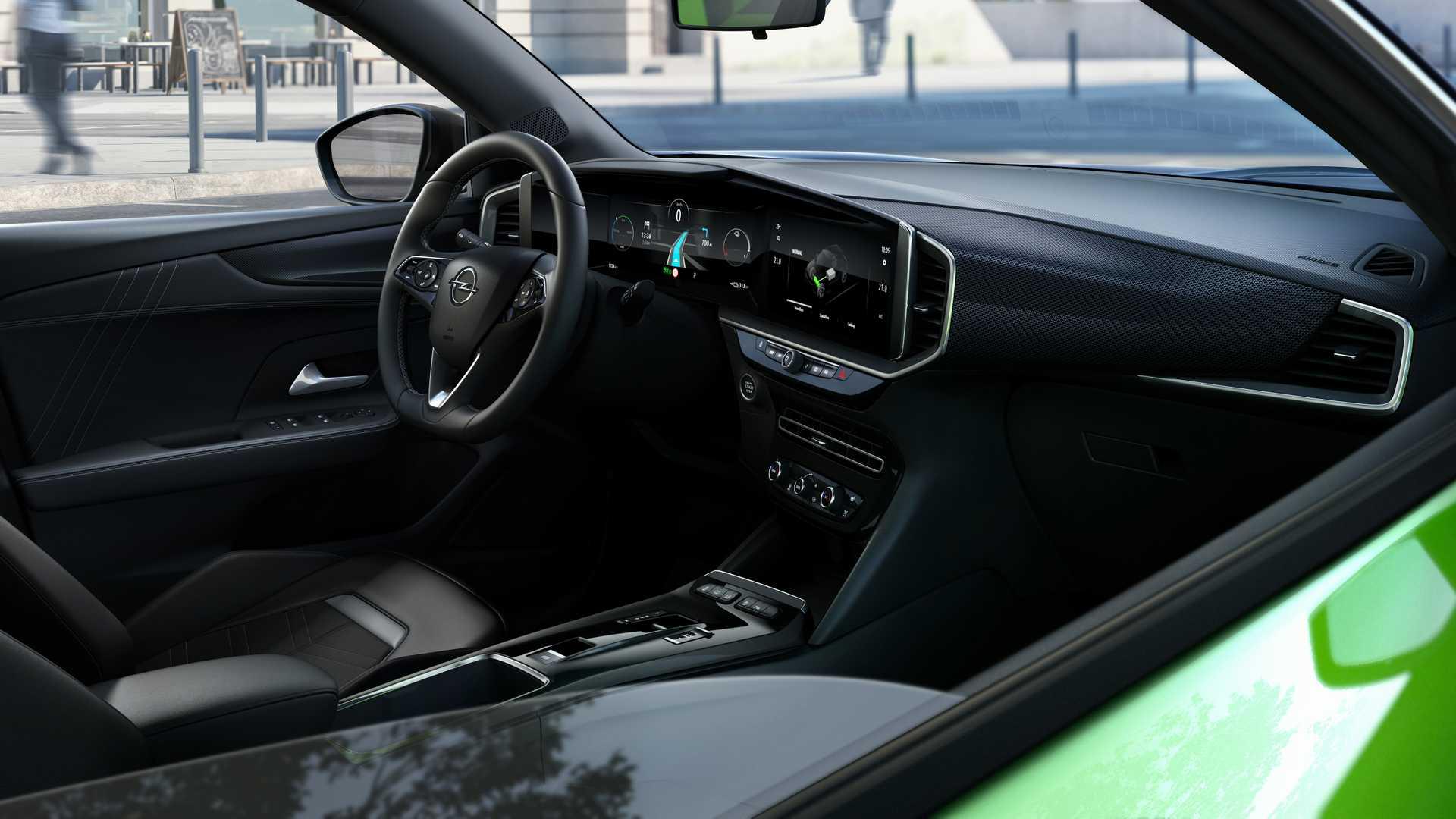 interior Opel Mokka