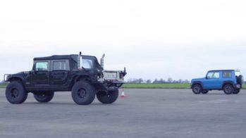 Suzuki Jimny vs Hummer H1