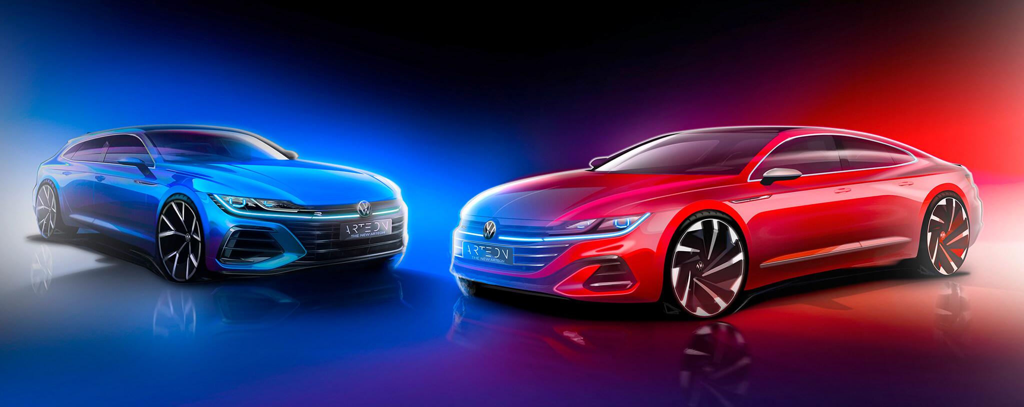 Volkswagen Arteon Shooting Brake e Volkswagen Arteon