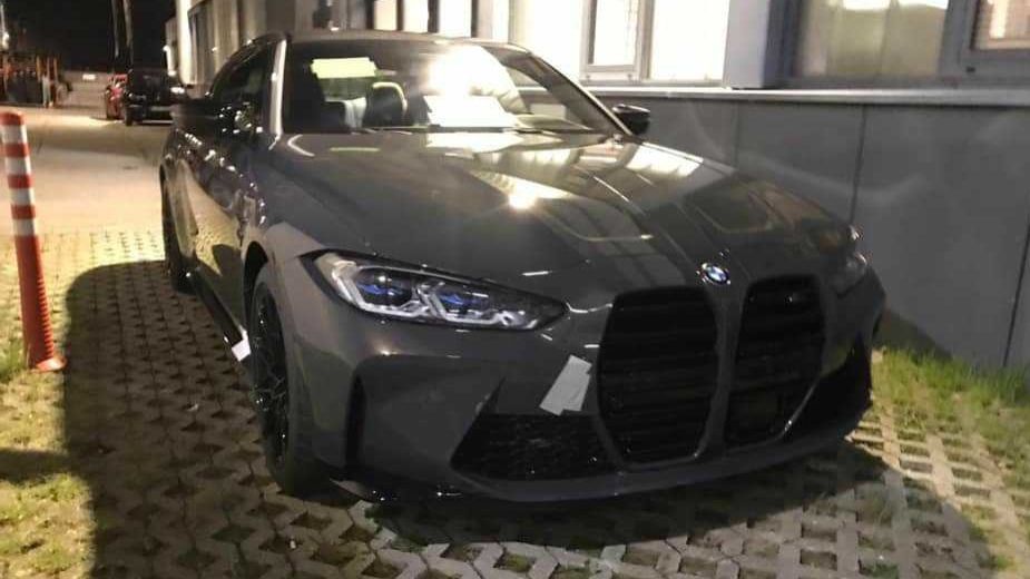 BMW M4 espia