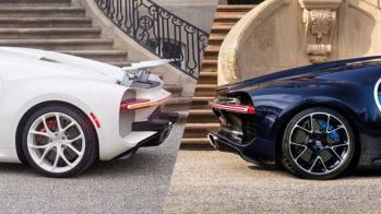 Bugatti Chiron para-choques
