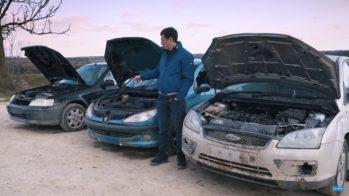 Honda Civic vs Peugeot 206 vs Ford Focus