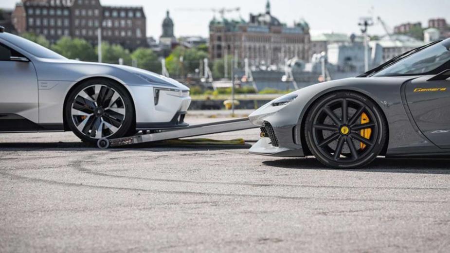 Polestar Precept e Koenigsegg Gemera