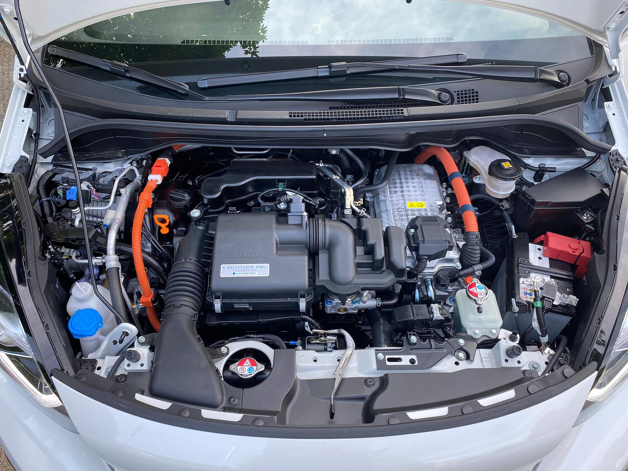 Motor 1.5 com motor elétrico