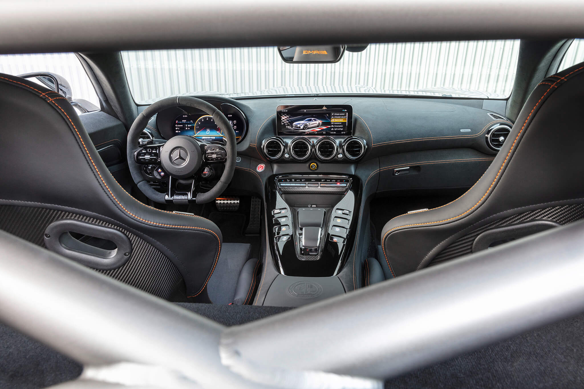 Interior Mercedes-AMG GT Black Series