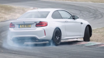 Chris Harris BMW M2 Competition Drift