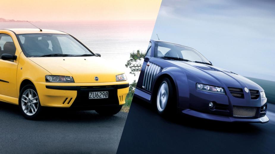 Fiat Punto e MG XPower SV