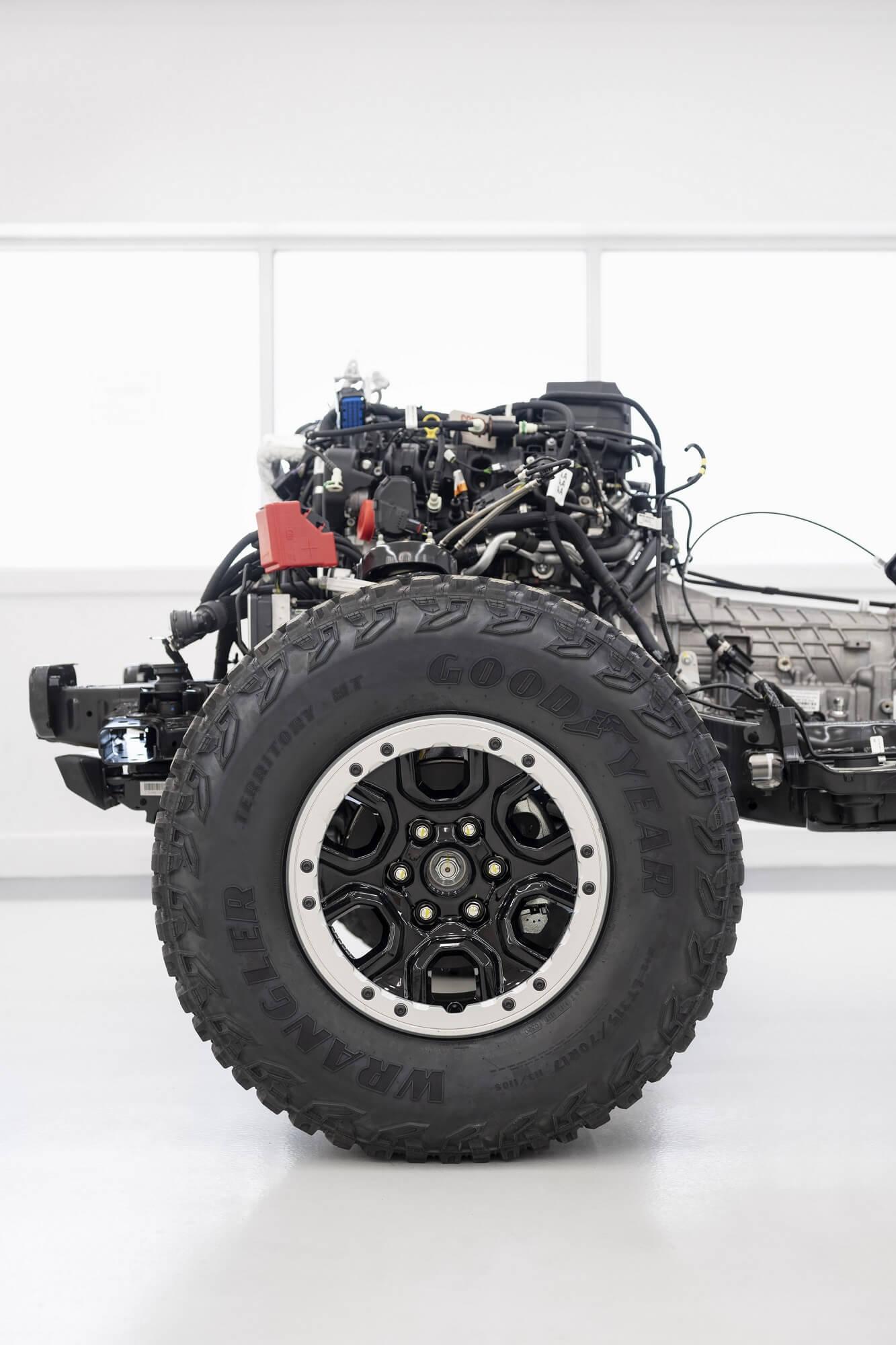 Ford Bronco pneus
