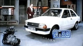 Ford Escort mudança de motor