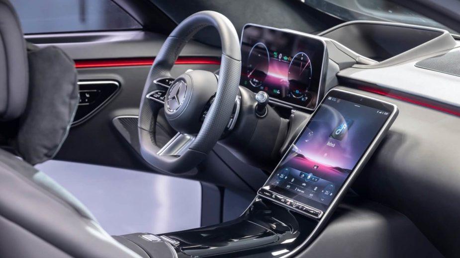 Mercedes-Benz Classe S interior