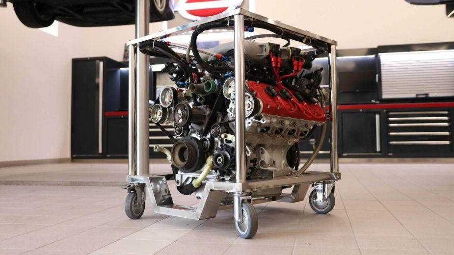 Motor Ferrari F40