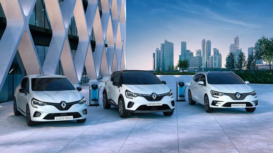 Renault Clio E-Tech, Captur E-Tech e Mégane E-Tech