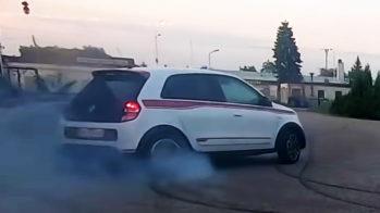 Renault Twingo GT drift