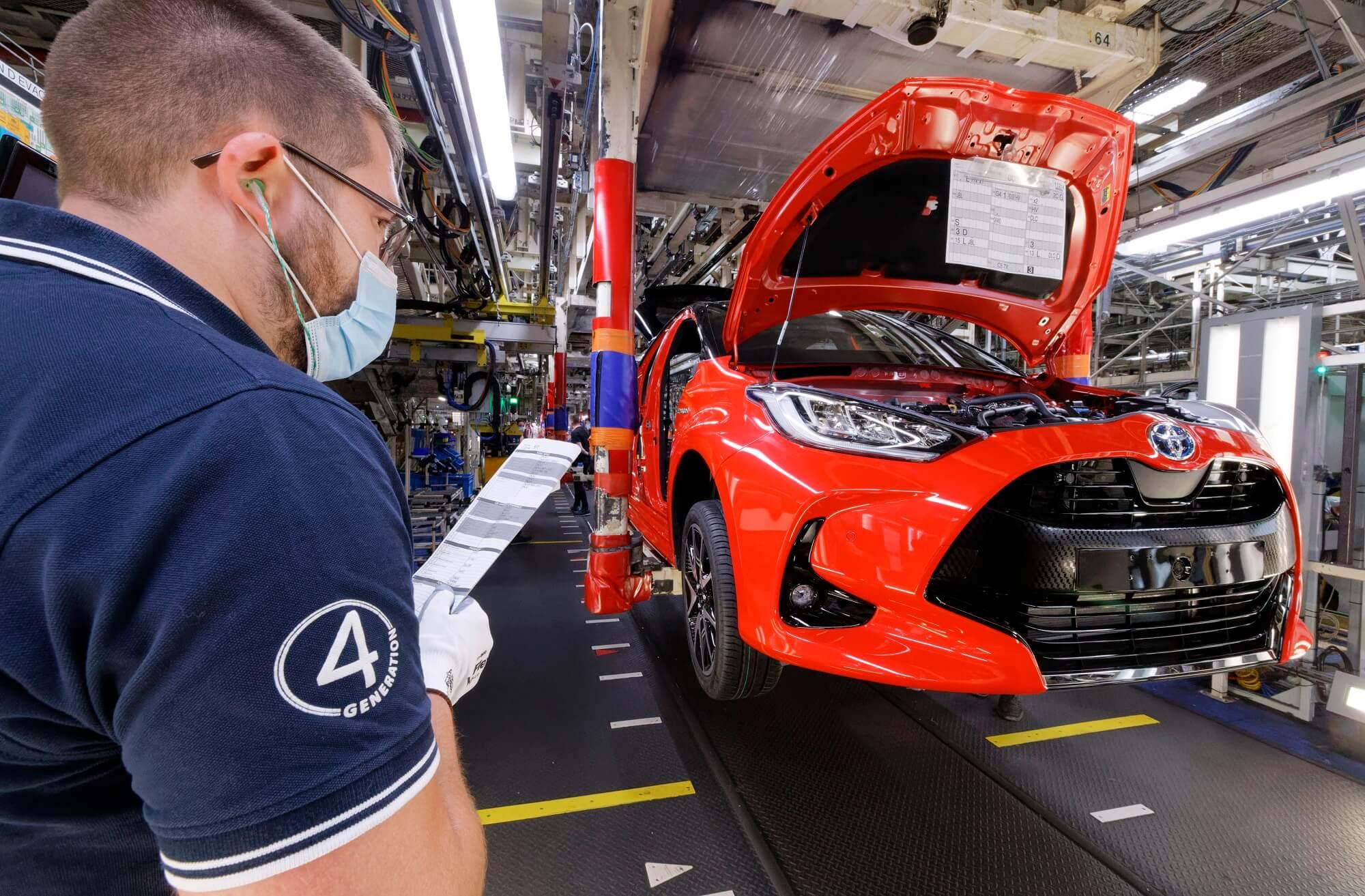 Toyota Yaris produçao