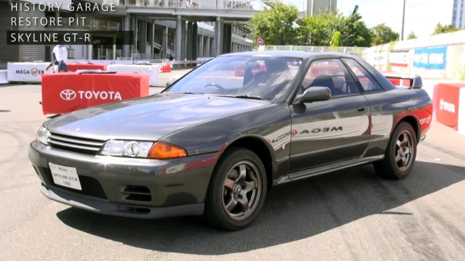 Nissan Skyline GT-R R32 restaurado pela Historica Garage, da Toyota