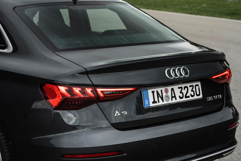 Volume traseiro do Audi A3 Limousine