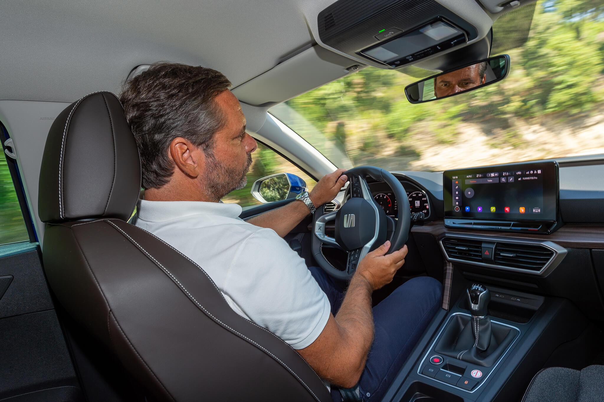 Joaquim Oliveira a conduzir
