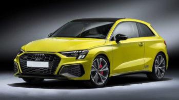 Audi S3 2020 3 portas rendering