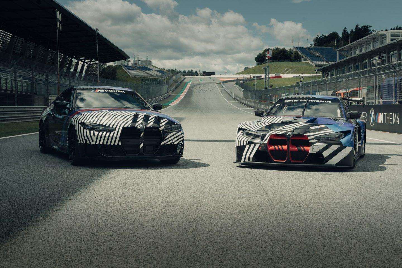 BMW M4 e M4 GT3